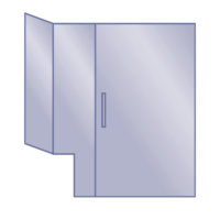 Return / Notched Panel / Door