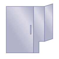 Door/Notched Panel/Return