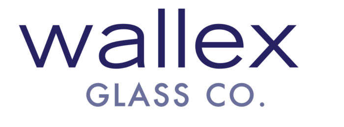 Wallex Glass Logo Text