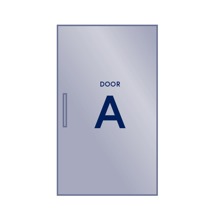 Single Door - Right Hinge