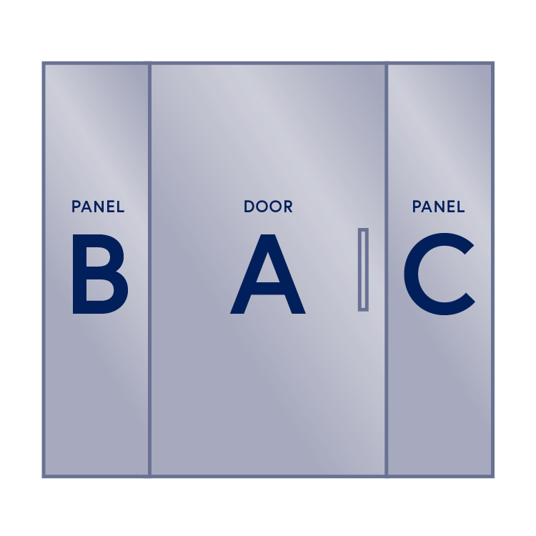 Panel / Door (Left Hinge) / Panel