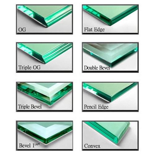 Glass Fabrication Edges