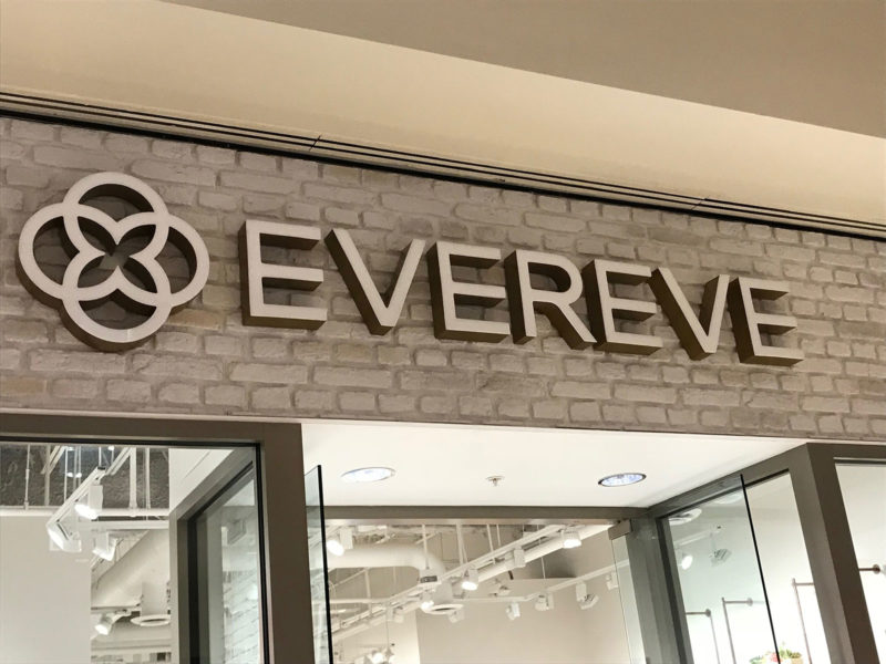 Wallex Commercial Glass - Evereve Storefront
